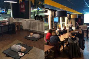 25 Reanimatiediploma's bij SV Delden