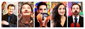 Libero Strijkerskwintet verzorgt 'Cultuurvriendenconcert' op Paasmaandag