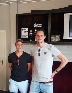 Rudi Struijk en Martijn Pals komend jaar trainersduo selectie Zwart Wit