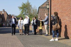 Ingezonden: Op pad door Delden met burgemeester, wethouders en ondernemers