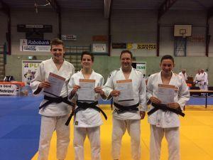 Deldenaar Stefan Plat behaalt derde dan judo