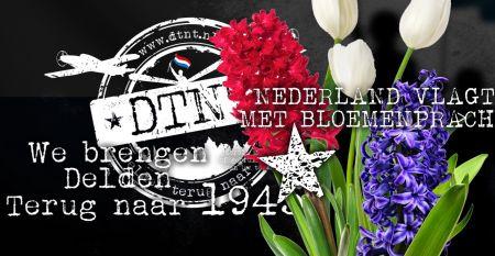 Veel Deldenaren doen mee aan bloembollenactie Delden Terug Naar Toen