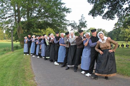 Jaarlijkse folkloremiddag in de Schaapskooi Delden