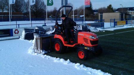 Aankomend weekend geen voetbal in Delden