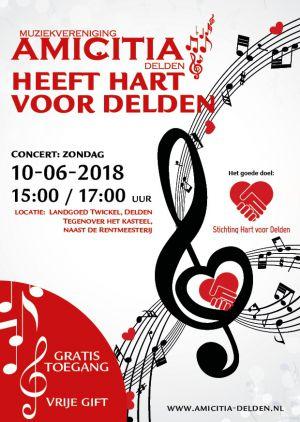 Stichting Hart voor Delden viert 10-jarig bestaan