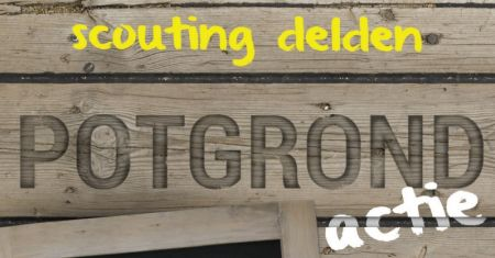 Potgrondactie Scouting Delden levert 2100 euro op