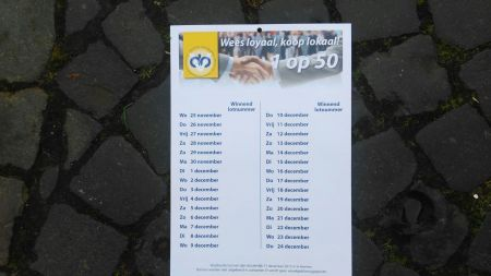 'Deldenaren nemen massaal deel aan '1 op 50' actie van de DOV'