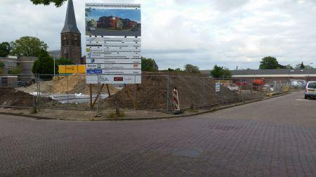 Riool op kruising Peperkampweg en Nieuwstraat ingestort