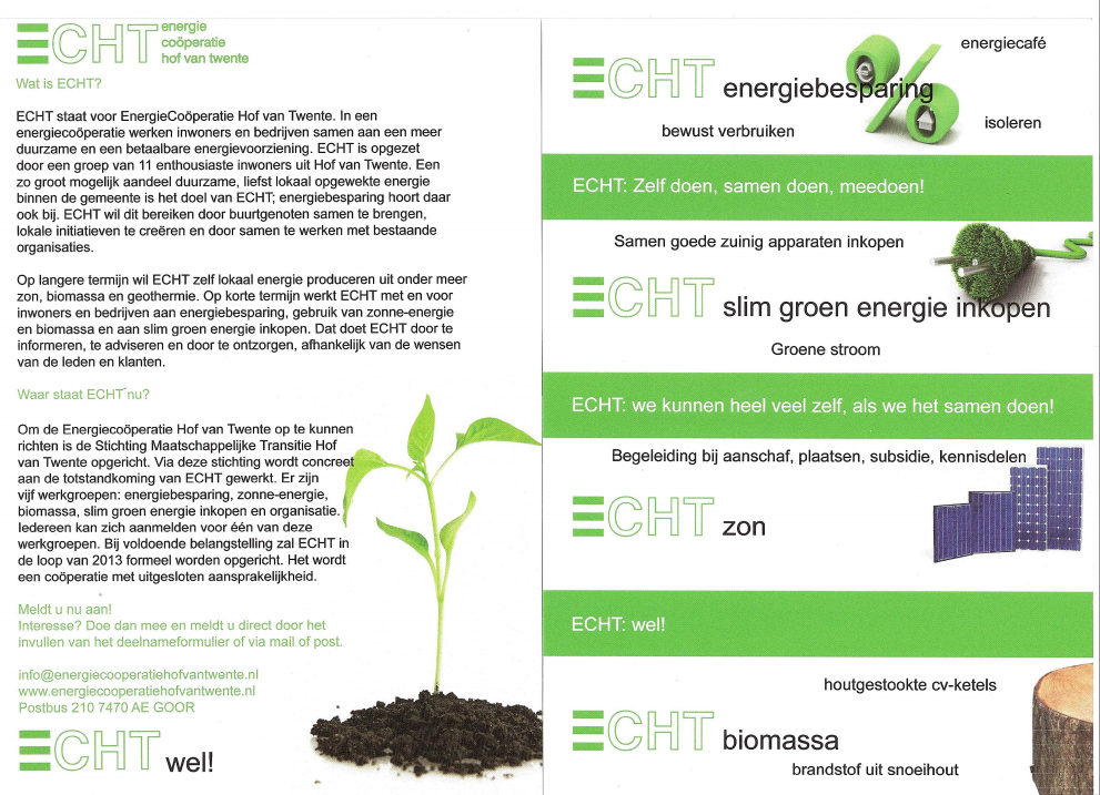 Veel belangstelling uit Delden voor EnergieCoöperatie Hof van Twente